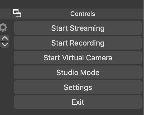 Botón de cámara virtual